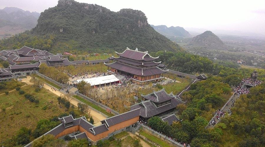 Bai Dinh temple overview