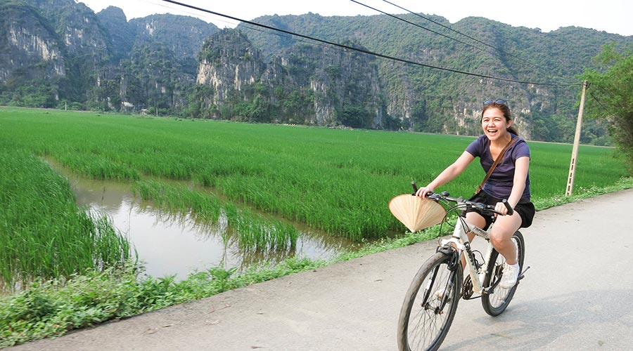 cycle tour in Ninh Binh