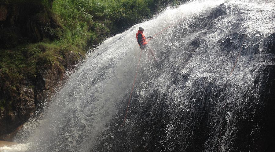 Canyoning in Dalat in Vietnam top 10 things to do