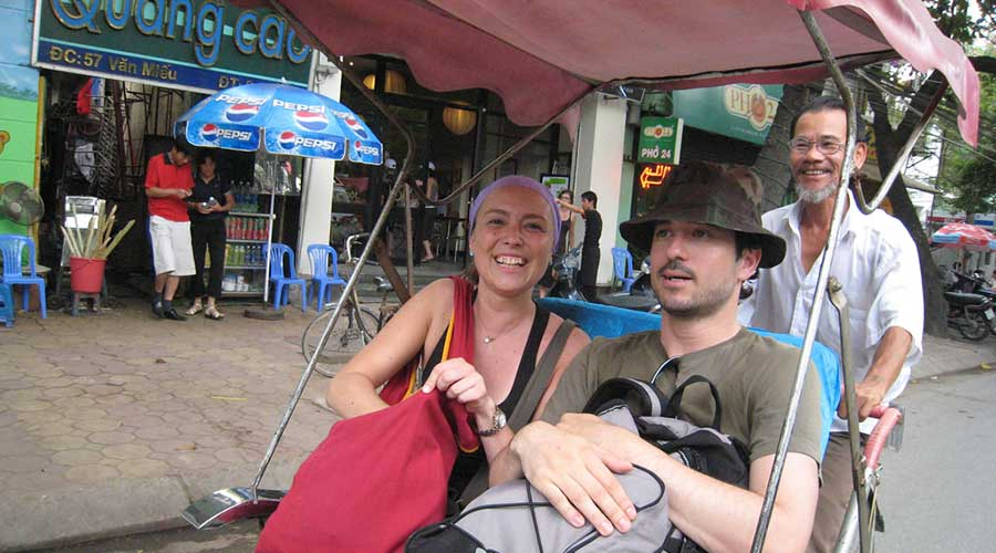 Explore Hanoi by cyclo