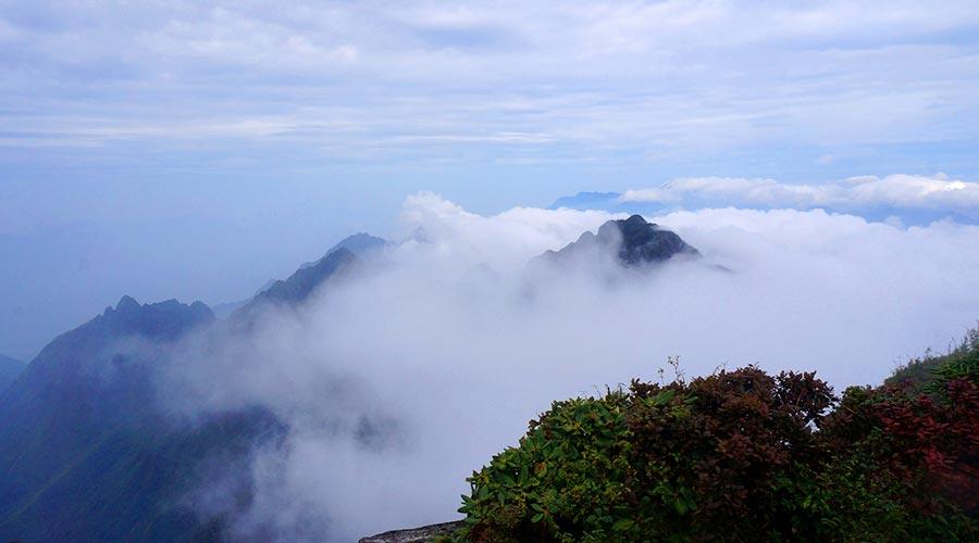 Fansipan clouds