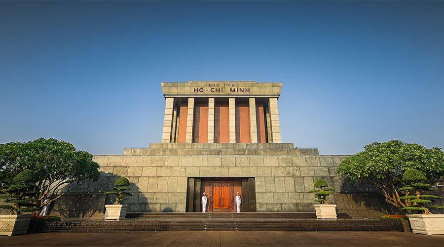 Ho Chi Minh Mausoleum in Hanoi city tour
