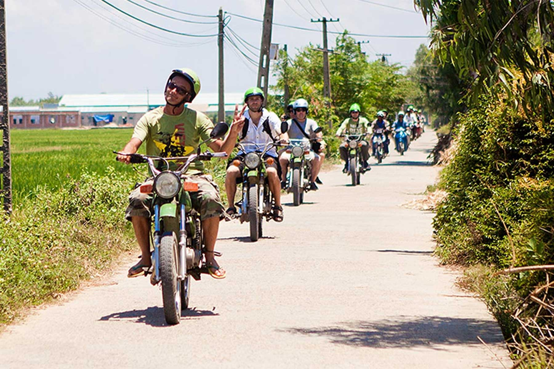 Motorbike tour from Hoi An