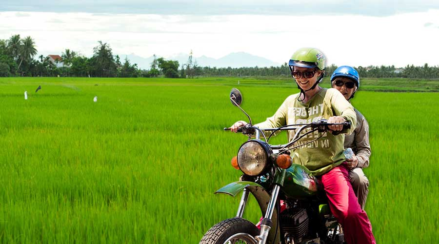 My Son motorbike tour from Hoi An
