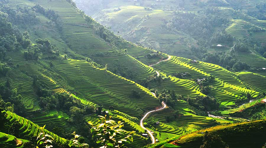 off the beaten track from Sapa