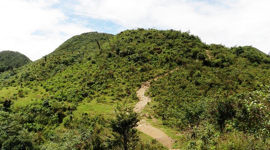 path Fansipan mountain