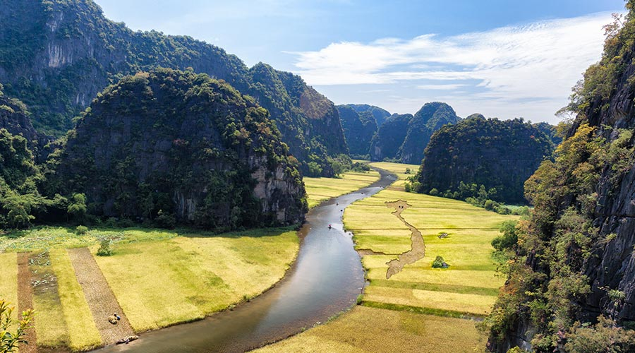 Tam Coc day tour from Hanoi