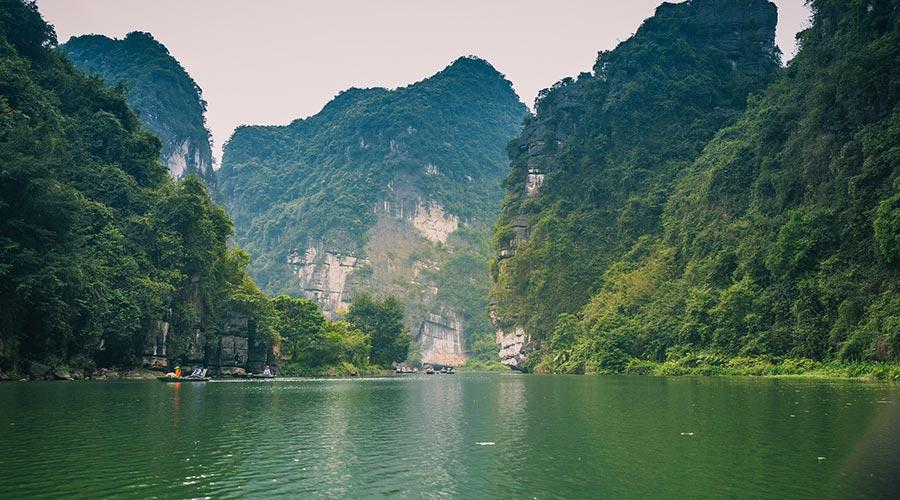 Trang An rock formations