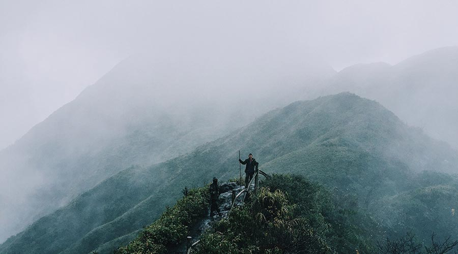 trekking path of Fansipan