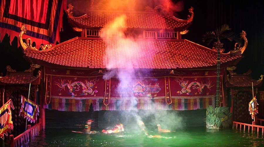 Water Puppet show tour hanoi