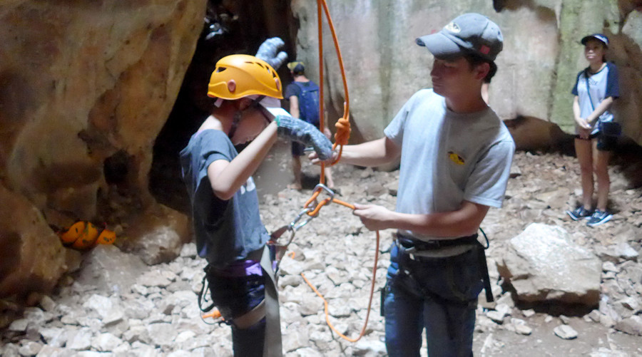 Abseil from the Marble Mountains