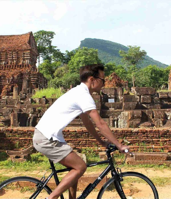 Biking from Hoi An to My Son Sanctuary tour
