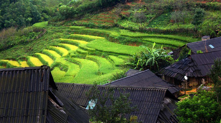 Matra village from Sapa by motorbike