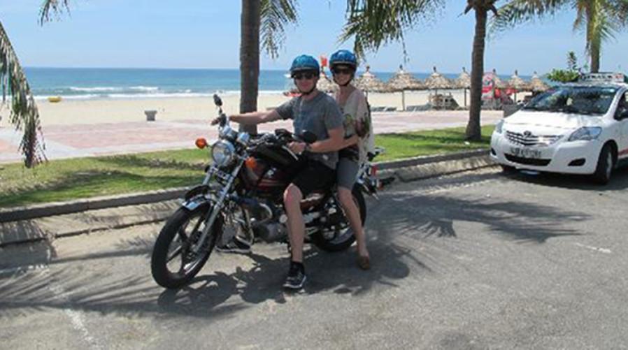 Motorbike tour to China Beach